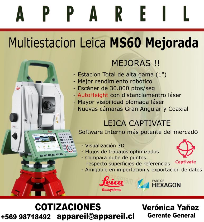 Nueva Leica MS60